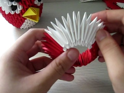 How to: 3D Origami Angry Bird Tutorial [Part 1]