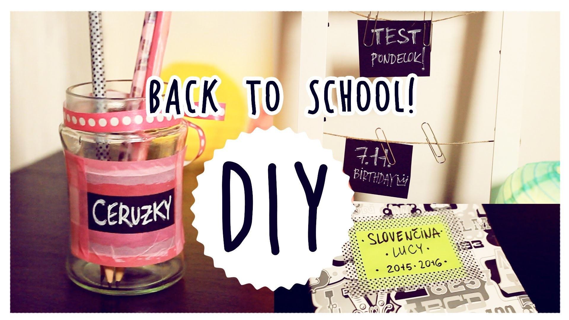 DIY | back to school