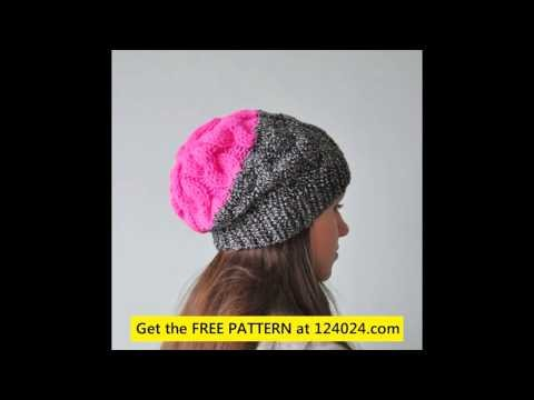 Knit beanies knitted beanie hats how to loom knit a slouchy beanie