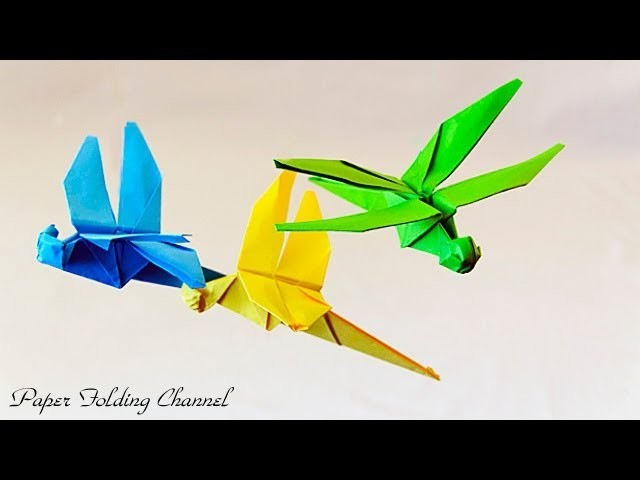 Origami Dragonfly