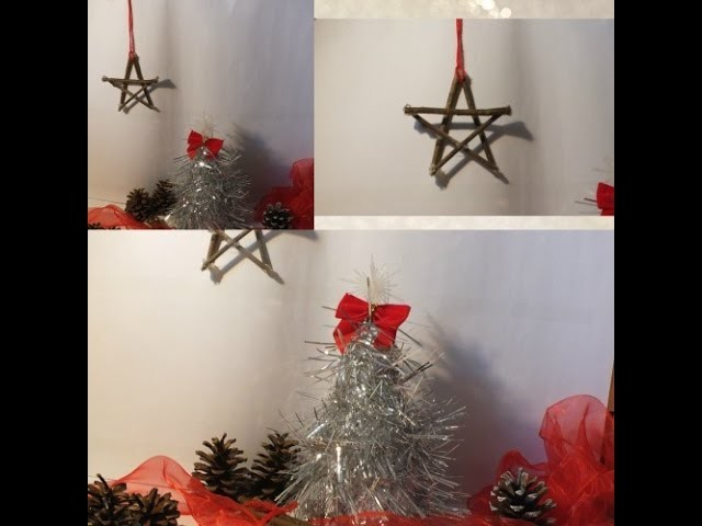 ❅ Winter DIY: Star & Tree.HD