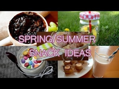 DIY Spring.Summer snack ideas