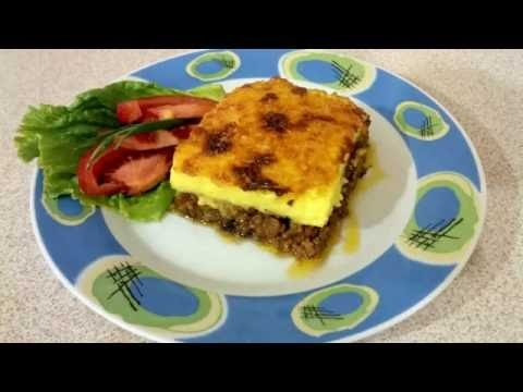 Grécka musaka. How to make greek mousaka. DIY