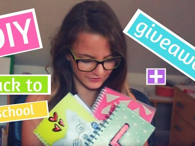 3 Back to school DIY notebooks.zošity + giveaway